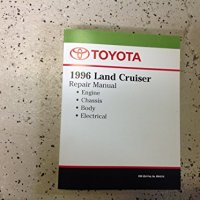 1996 Toyota Land Cruiser Service Shop Repair Manual OEM FACTORY BOOK NEW