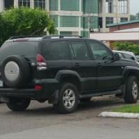 Jamaica-Toyota Land cruiser Prado