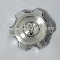 Tripoint® 4Pcs TOYOTA Alloy Wheel Center Hub Cap full Chrome COVER FITS: 2007-2013 Toyota Land Cruiser 4000 Prado 4.0L
