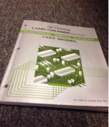 1993 Toyota LAND CRUISER Electrical Wiring Diagram ...