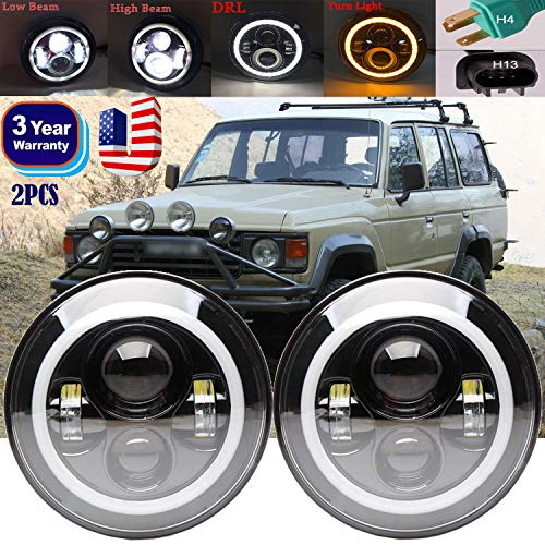 7inch Led Headlights For Toyota Land Cruiser Fj40 Fj45