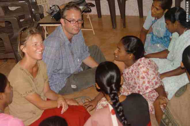 Sharing stories in Chennai, India