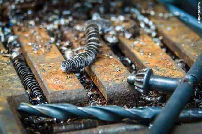drilling chips (©photocoen)