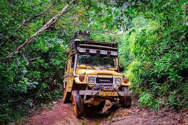 traversing the jungle in French Guiana. [©photocoen]
