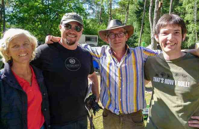 Scott Brady, owner of Overland Journal from the U.S. and Michael Stahl from Germany.