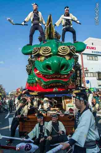 Kunchi Festival in Karatsu, Japan (©photocoen)