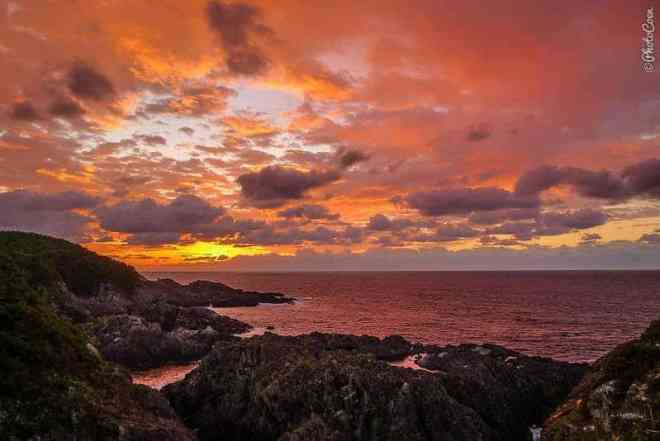 Sunset on Yakushima Island, Japan (©photocoen)