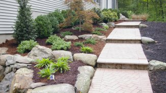 Planting with Boulders