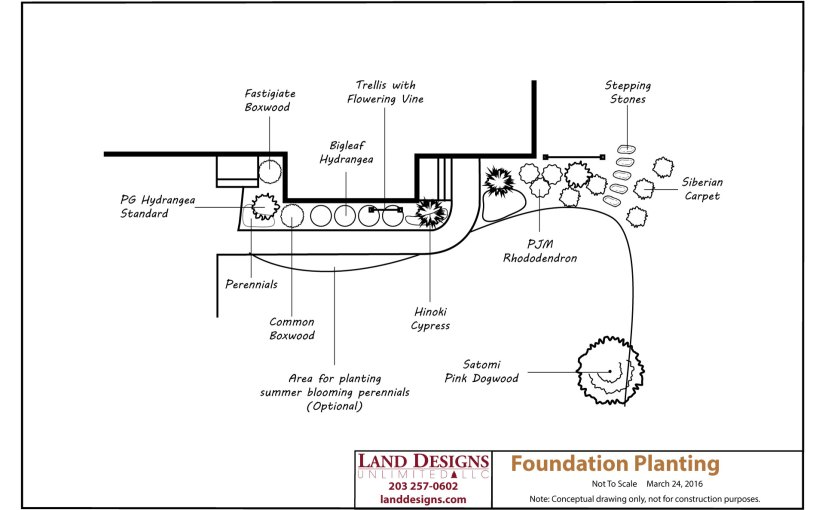 Foundation Planting Landscape Design