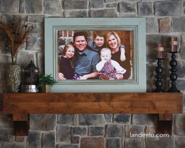 How to Build a LARGE Frame with Moulding - landeelu.com