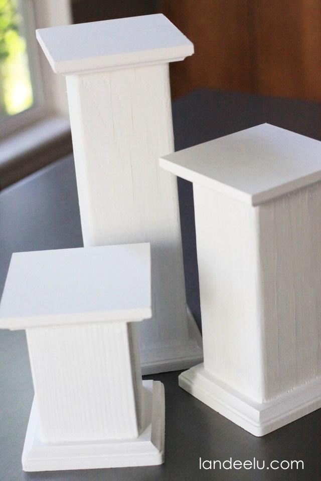 DIY Pedestals 1