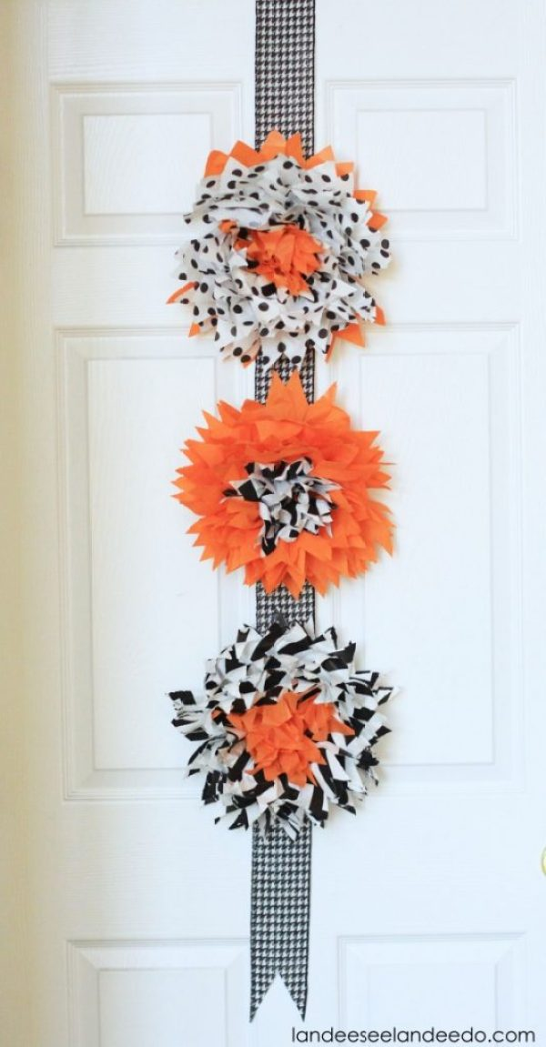 Halloween Easy Decor for Door