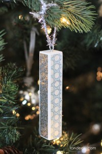 Wooden Dowel Ornament--easy and fun to make