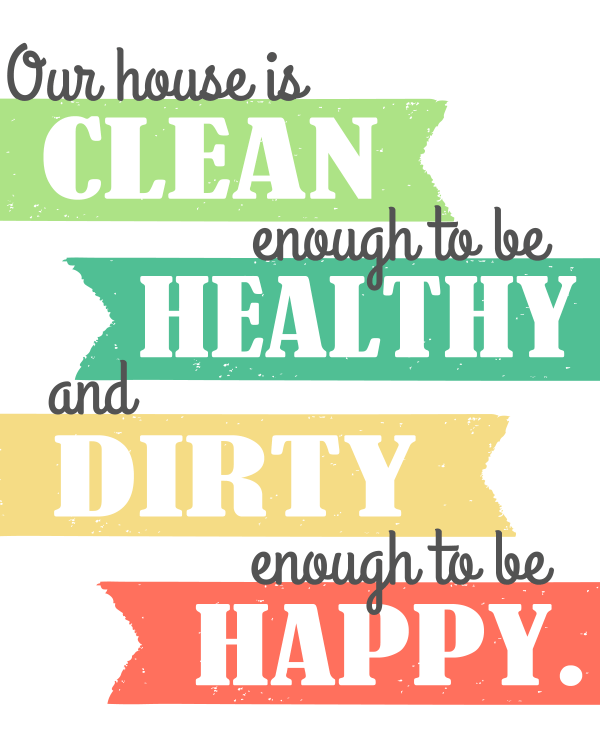 Clean House post