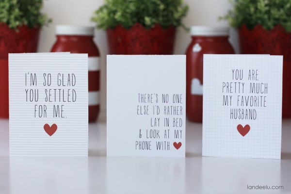 Printable Valentine's Day Cards
