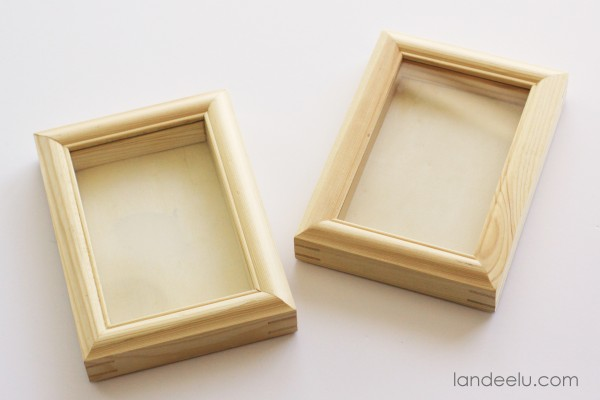 DIY Picture Frame Bookends 4