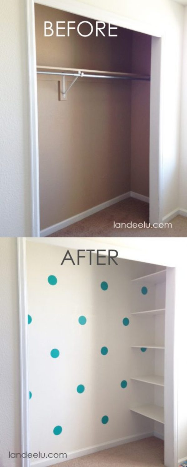 Budget Friendly Closet Makeover
