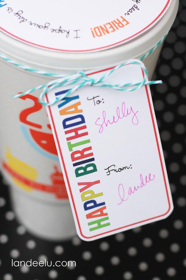 Birthday Gift Idea from Landeelu