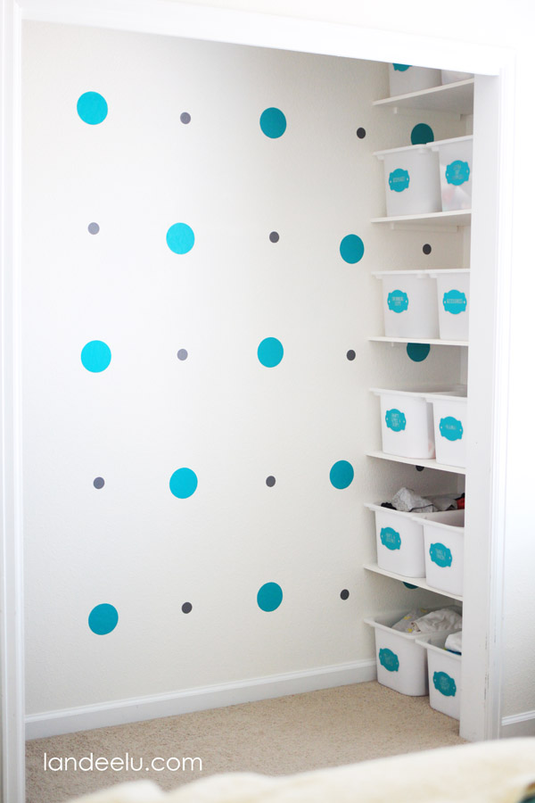 Closet Organization Tips for kids