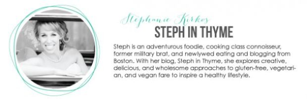 Check out this amazing food blog!  Steph In Thyme