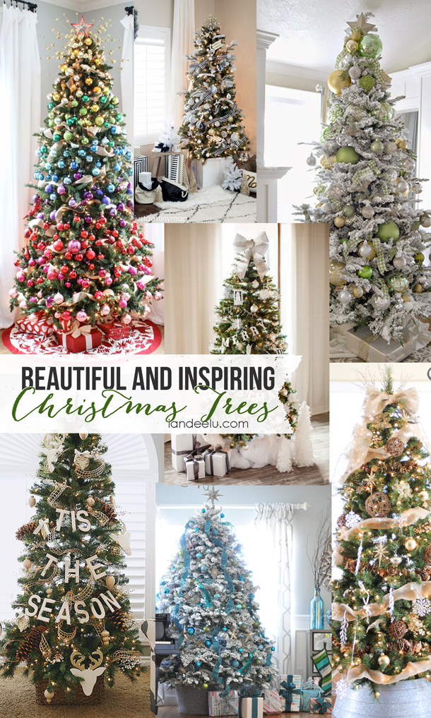 Inspiring Christmas Trees that are sure to spark your creativity! | landeelu.com