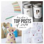 Fourteen Top Posts of 2014
