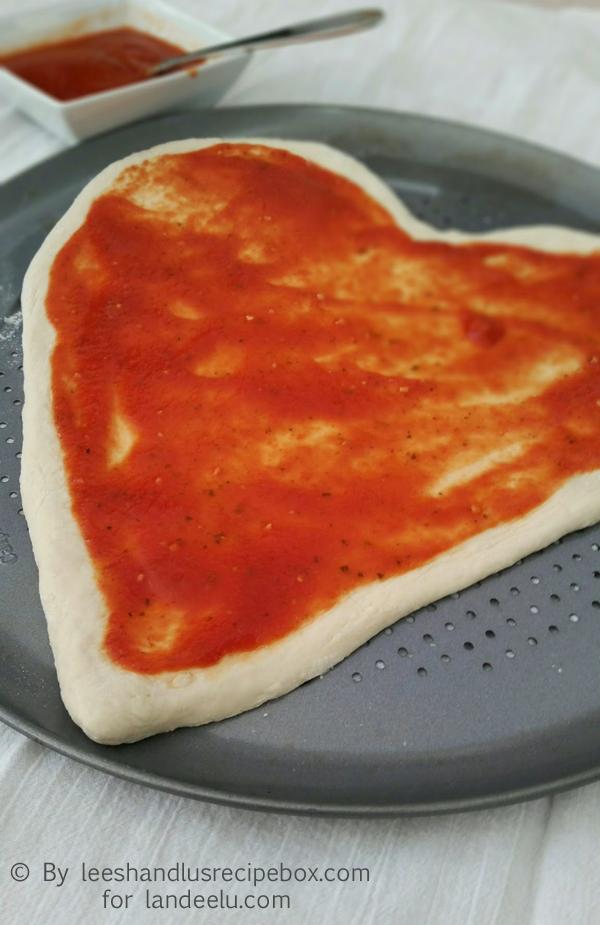 Heart Shaped Pizza (7)