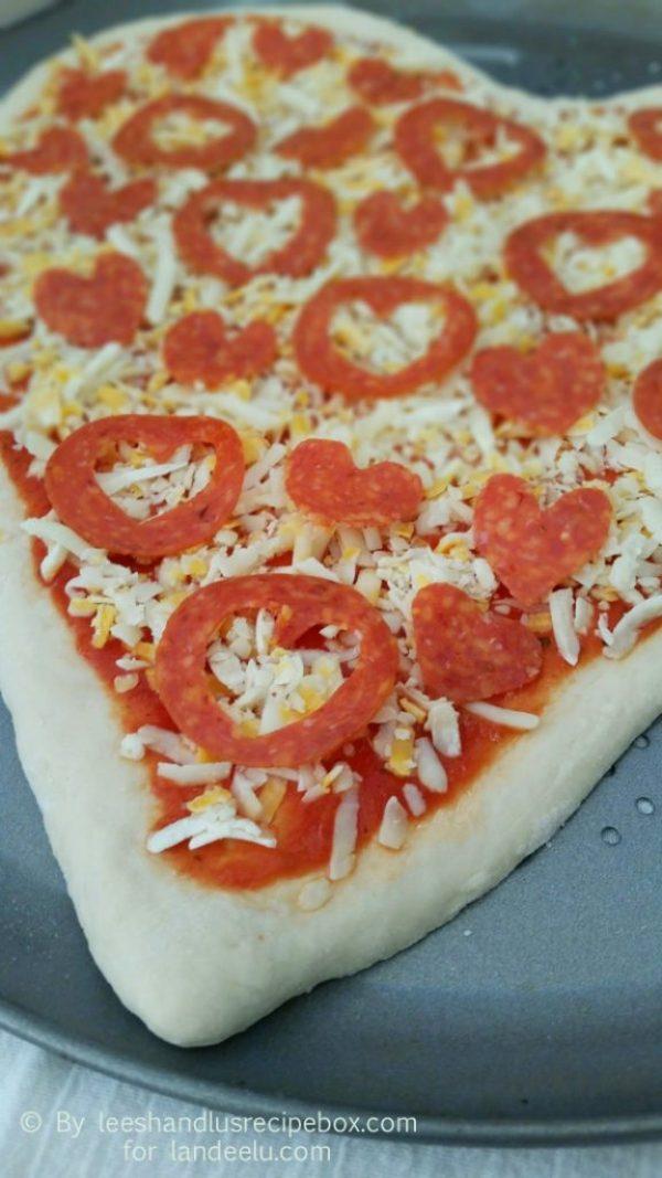 Heart Shaped Pizza (8)