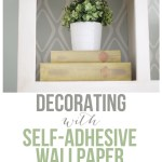 Decorating with Self-Adhesive Wallpaper