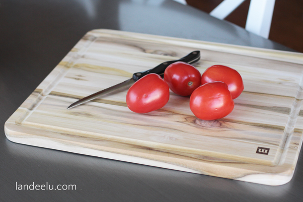 How to Easily Dice Tomato to Remove the Seeds! | landeelu.com
