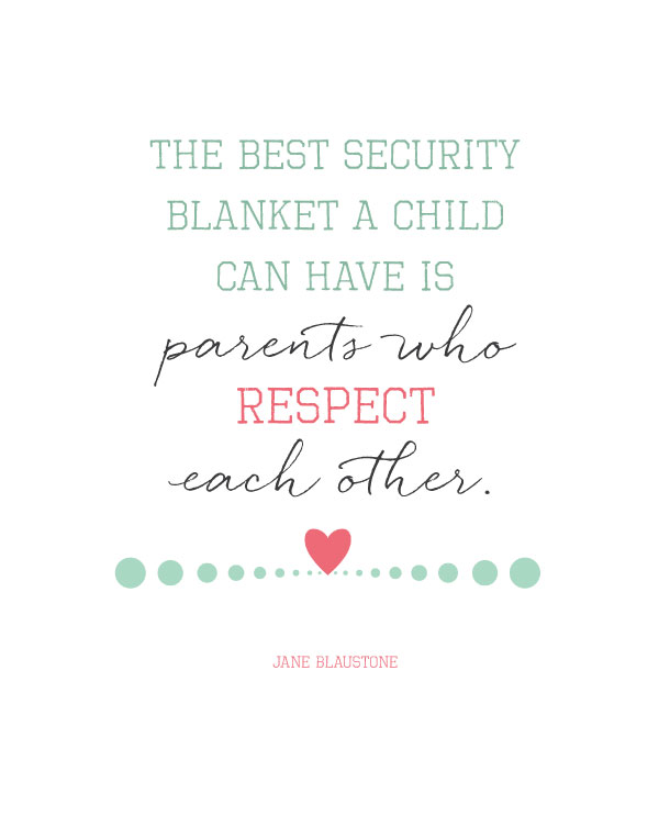What a gift we can give our children. Love this quote!