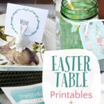 Easter Table Printables and Ideas