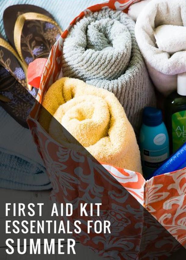 Hello Natural Beach Bag First Aid Kit