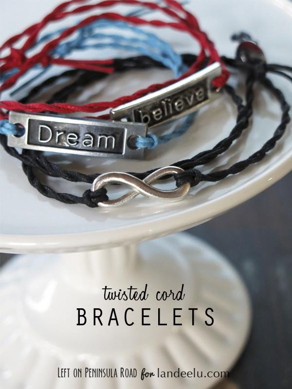 Twisted Cord Wrap Bracelets Title