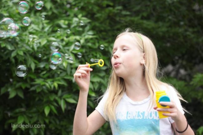"""Summer Boredom Buster: Bubble Games! 