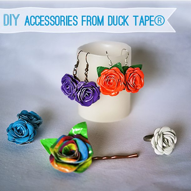DuctTapeProm accessories via saved by love creations