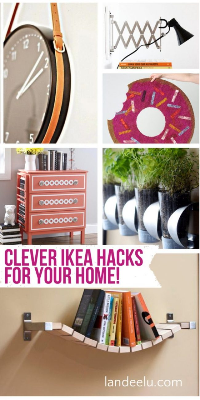 So many AWESOME IKEA hacks!  A ton I haven't seen before!
