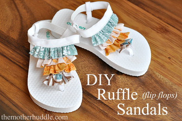 Ruffle Flip Flops The Mother Huddle