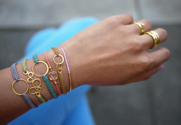 macrame bracelet via Erica of HWTF