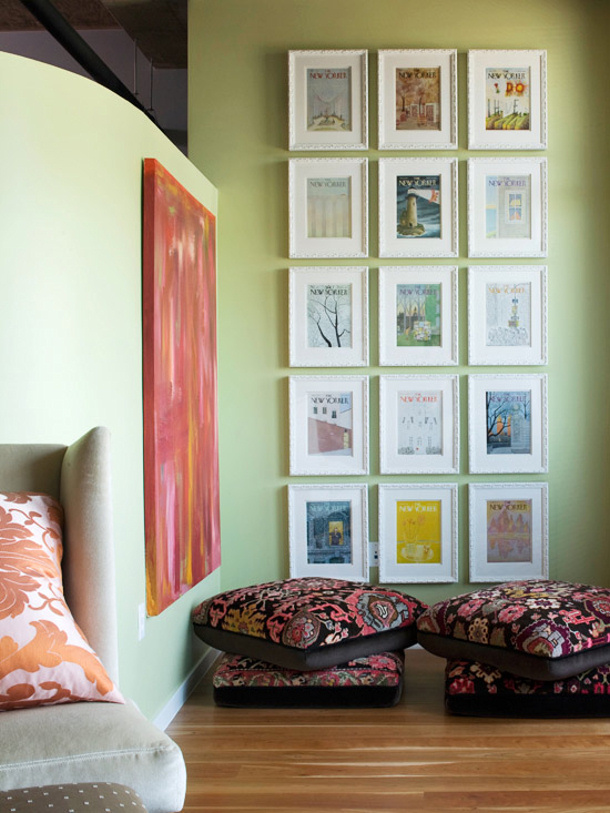 Creative Wall Displays Gallery Walls And More Landeelu Com