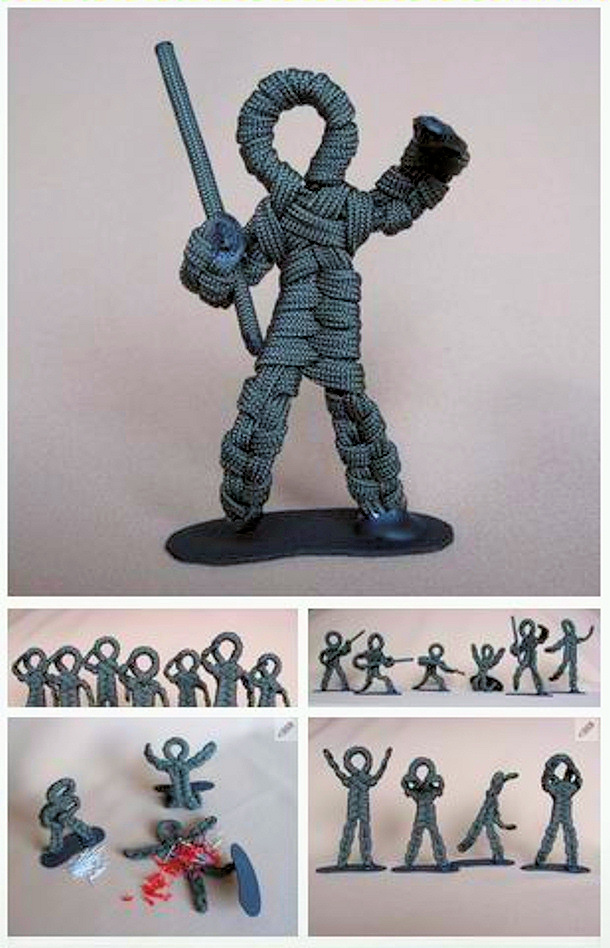 Army Men via instructables