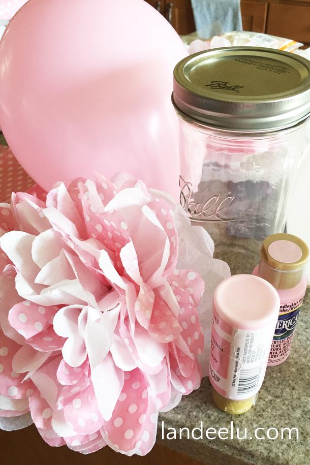 Pink And Grey Baby Shower Landeelu Com