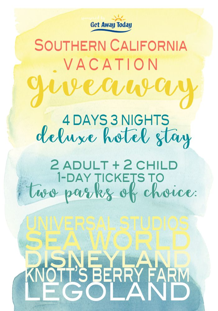 Southern CA Giveaway BLOG