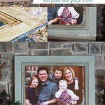 How to Build A Huge Picture Frame using Moulding! Easy and so much cheaper than buying a frame this size! | landeelu.com #diypictureframe #pictureframe #largepictureframe #largeframe