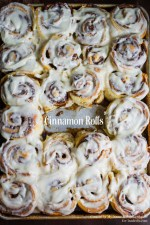 A fool-proof cinnamon roll recipe for those homemade cinnamon rolls everyone loves!
