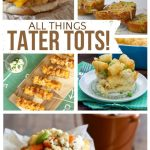 Tater Tot Recipes | landeelu.com So many incredible tater tot recipes! Sweet potato tots, tater tot kabobs, tater tot pizzas and more! Yum!