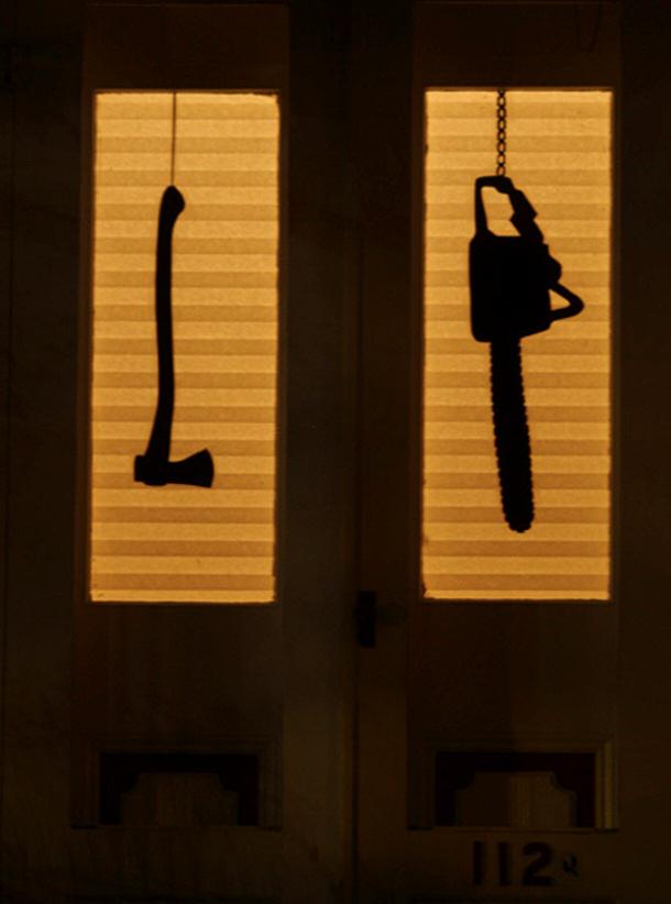 Creepy Tools Silhouettes via Make