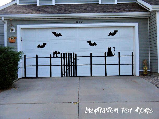 Make a Spooky Scene using craft supplies Tutorial via INSPIRATION FOR MOMS