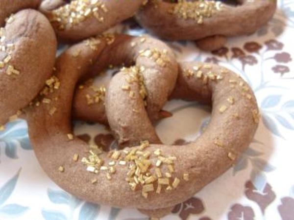German-Chocolate-Pretzel-Cookies about food