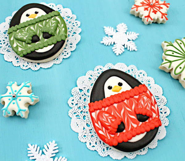 Penguin Cookies Eighteen25
